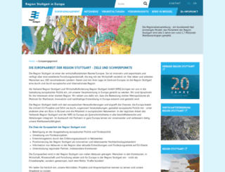 eu.region-stuttgart.de screenshot