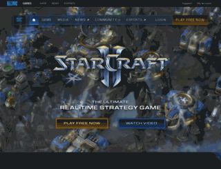 eu.starcraft2.com screenshot