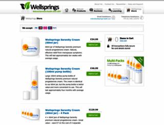 eu.store.wellsprings-health.com screenshot
