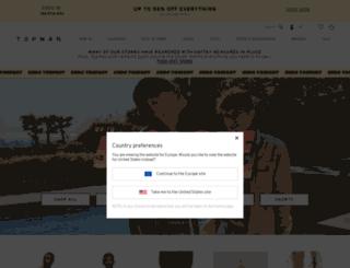 eu.topman.com screenshot