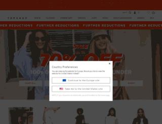 eu.topshop.com screenshot