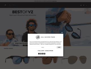 eu.vonzipper.com screenshot