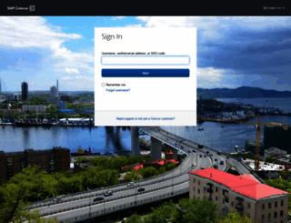 eu1.concursolutions.com screenshot