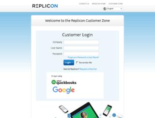eu1.replicon.com screenshot
