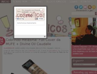 euacreditoemcosmeticos.com screenshot