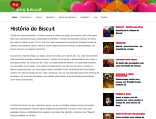 euamobiscuit.com.br screenshot