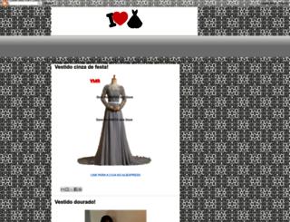 euamovestidos.blogspot.com.br screenshot