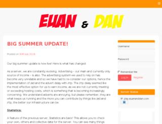 euananddan.com screenshot
