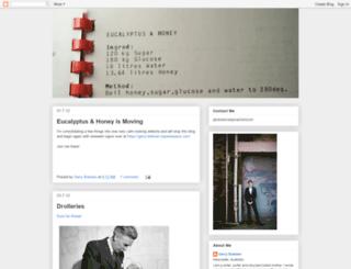 eucalyptushoney.blogspot.com screenshot