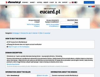 eucard.pl screenshot