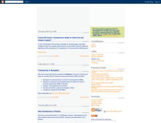 eucity.blogspot.com.br screenshot