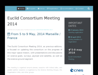 euclid-conference.lam.fr screenshot