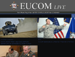 eucom.dodlive.mil screenshot