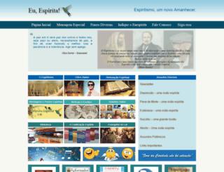 euespirita.com.br screenshot
