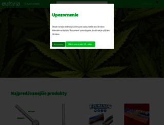 euforiaheadshop.sk screenshot
