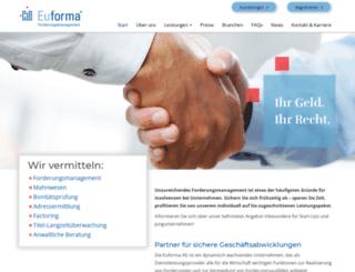euforma.eu screenshot