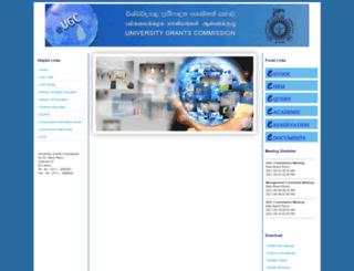 eugc.ac.lk screenshot