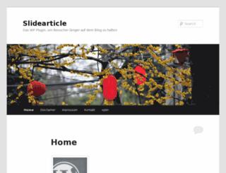 eugenbellon.de screenshot