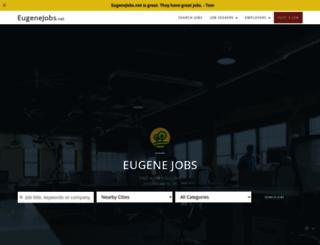 eugenejobs.net screenshot