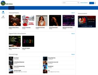 eugenepl.freegalmusic.com screenshot