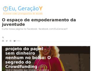 eugeracaoy.com.br screenshot