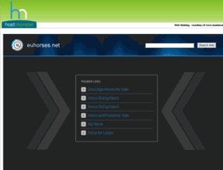 euhorses.net screenshot