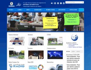 eui.upm.es screenshot