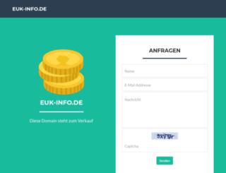 euk-info.de screenshot
