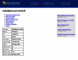 eukaliptas.serveriai.lt screenshot
