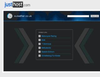 euleather.co.uk screenshot