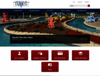 eulesstx.gov screenshot