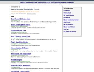 eumarriageagency.com screenshot