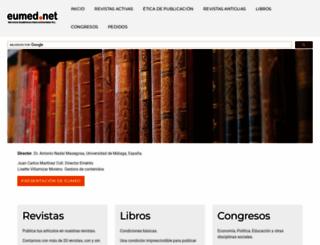 eumed.net screenshot