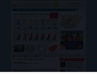 eumet.hu screenshot