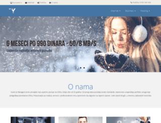 eunet.rs screenshot