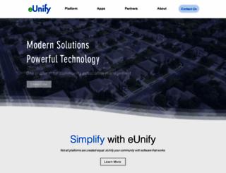 eunify.net screenshot
