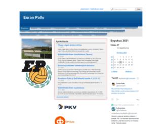 eupa.sporttisaitti.com screenshot