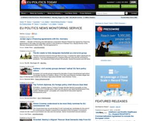 eupolitics.einnews.com screenshot
