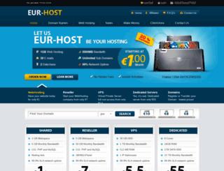 eur-host.com screenshot