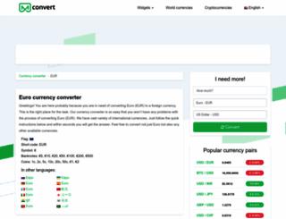 eur.mconvert.net screenshot
