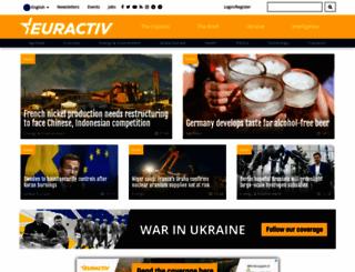 euractiv.com screenshot