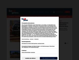 eurailpress.de screenshot