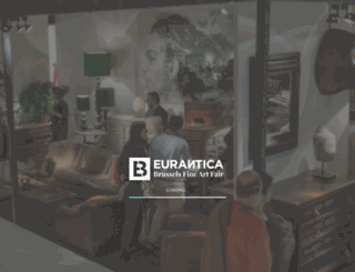 eurantica.be screenshot