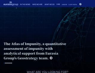 eurasiagroup.net screenshot