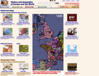 euratlas.com screenshot