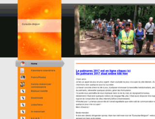 euraudax-belgium.be screenshot