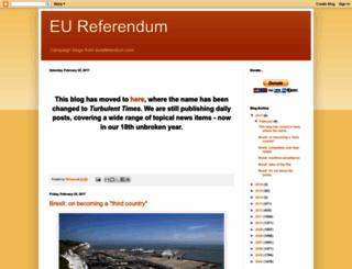 eureferendum.blogspot.com screenshot