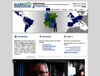 eureka-sd-project.eu screenshot