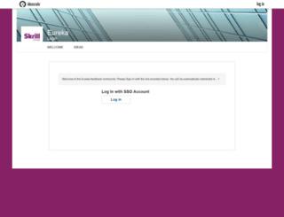 eureka.skrill.com screenshot