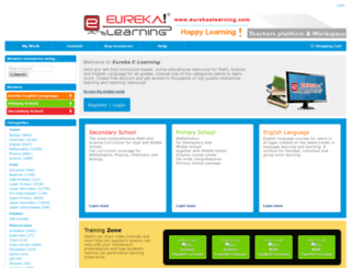 eurekaelearning.com screenshot